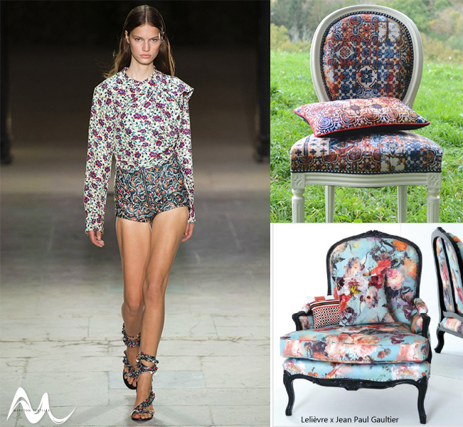 Fashion to Furnishings Floral Trend