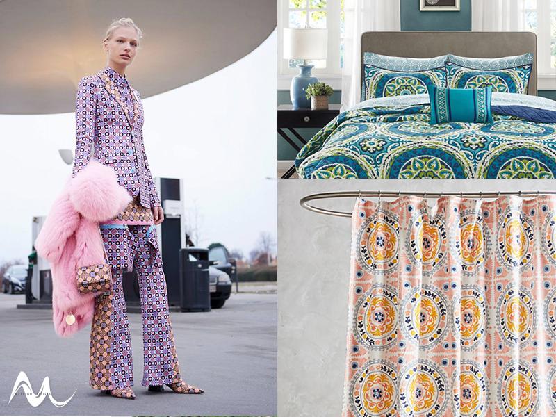 Fashion to Furnishings Mandala Trend