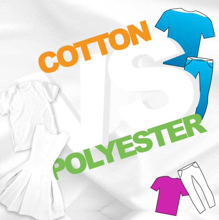 Polyester vs Cotton – Infographic