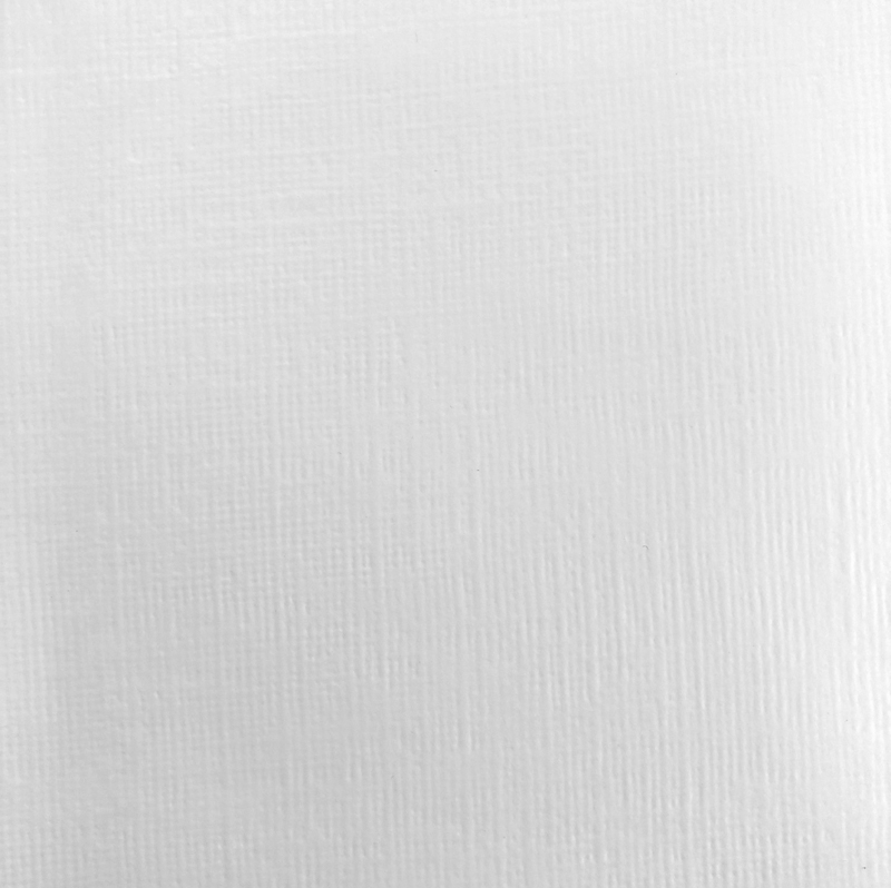 Linen Look Wallpaper in White