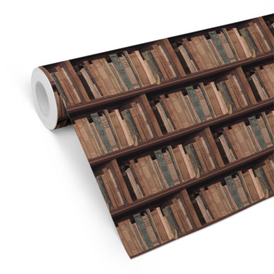 Bookshelf Wallpaper